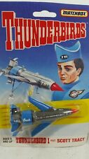 Matchbox thunderbirds Thunderbird One Pilot Scott Tracy