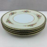 "Noritake Occupied Japan Naomi 10"" Dinner Plates Set of 4 - Flawless"