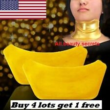 10x Gold 24K Bio Collagen Neck Pads Mask pack Anti Wrinkle Aging Moisurize OroGo