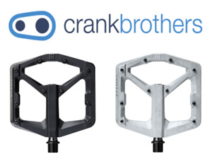 Crank Brothers Stamp 2 Small or Large, Black or Raw MTB Pedals