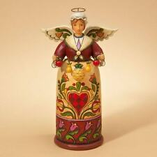 Jim Shore Angel WARM WELCOME Williamsburg Christmas Angel Figurine 4021985 BNIB
