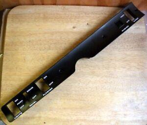 68 Mopar Dash Switch Panel GTX Roadrunner Coronet B 69 Plymouth Dodge  Satellite