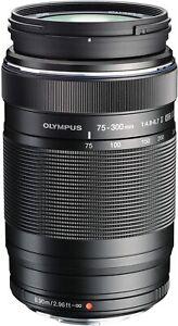 Olympus M.Zuiko Digital ED 75-300mm f/4.8-6.7 II ED Telephoto New Camera Lens