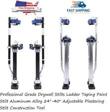 Professional Grade Drywall Stilts Ladder Adjustable Plastering Construction Tool