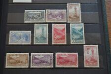 ANDORRE français 1932/1933 entre n° 24/46 neufs **/*/OBL cote 150 €