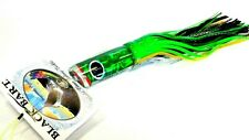 Black Bart 1656 Angled Nose Big Game Trolling Lure Med-Hvy Prism Green Black Dot