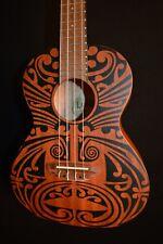 Luna Tribal Tenor Acoustic Ukulele - Free Shipping!