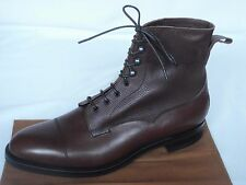 NEW Edward Green GALWAY Burgundy Utah & Delapre Calf Leather Lace Up Boots UK 10
