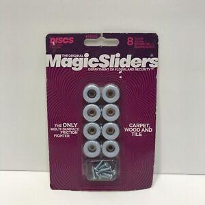 ROUND MAGIC SLIDER 8- 3/4inch 19mm SCREW Brand New Protect Floors