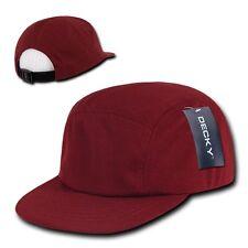 Maroon Cardinal Racing Mesh Low Profile Jockey 5 Panel Adjustable Cap Hat Hats