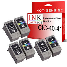 6 Ink Cartridge For Canon MP140 MP150 MP160 MP170 MP180 MP190 MP210 MP220
