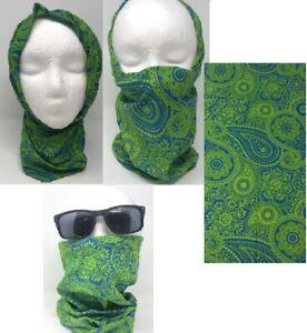 Face Guard Neck Gaiter Sun Cover Balaclava Bandanna Scarf Hair Head Band 3pk