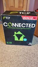 NEW (Open Box) TCP CONNECTED AUTOMATED HOME LIGHTING STARTER KIT # CCG2P3817