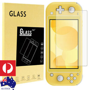 Nintendo Switch Lite Tempered Glass Screen Protector Retail Packaging