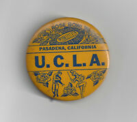 1962 UCLA Bruins Rose Bowl button vintage original pin back