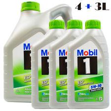 7 Liter MOBIL 1 ESP 5W-30 MOTORÖL 4L+1L+1L+1L= 7L ESP Formula Nachfolger