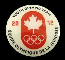 Innsbruck 2012 1st YOG Winter Olympic Games Canada NOC team pin