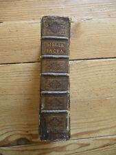 Biblia sacra vulgatae editionis, CLEMENT VIII 1630. Reliure Bible