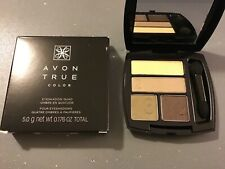"""Avon True Color Quad Eye Shadow Compact """"GILDED METALLICS""""  NEW IN BOX"""