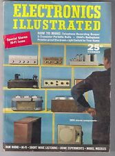 ELECTRONICS ILLUSTRATED November 1958 1st Stereo Hi-Fi Issue - COMPLETE - NICE!!
