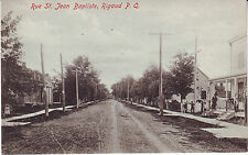 Canada Quebec Rigaud - Rue St. Jean Baptiste pre WWI unused postcard