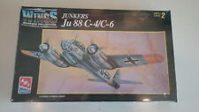 1/72 scale AMT / Ertel WWII German Junkers Ju 88 C-4/C-6 kit
