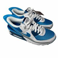 Nike Air Max 90 Flyease Shoes Men's 5.5 White Laser Blue CZ4270-100 New