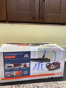 Miele Compact C1 Turbo Team Canister Vacuum - Obsidian Black  41CAE037 Open Box