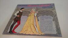 Romeo Juliet Paper Dolls Tom Tierney 1995 Uncut Die Cut Shakespeare