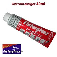 Elsterglanz Chrompflege Poliermittel Polierpaste Politur 40ml