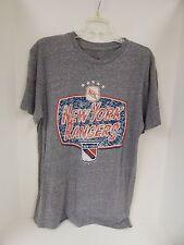 3 Four NHL New York Rangers MENS Grey Sample Short Sleeve Tshirt-Large