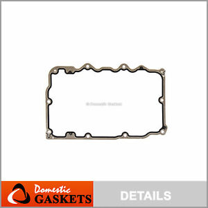 Lower Oil Pan Gasket Fits 97-11 Ford Explorer Land Rover Mazda B4000 Mercury 4.0