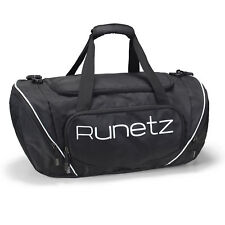 "Runetz -  Gym Sport Shoulder Bag for Men/Women Duffel 20"" Large - Black"