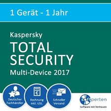Kaspersky total Security Multi-device 1-device 1 Jahr Download
