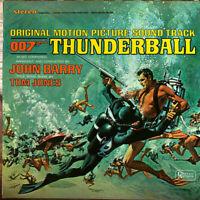 Thunderball - James Bond - Soundtrack Record VG Sleeve NM
