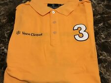 Veuve Clicquot signature Shirt from Polo Classic **AWESOME**  SIZE: SMALL (MENS)