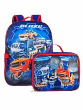 Blaze and the Monster Machines Backpack with Lunch Box - 2 Piece Set
