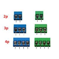 KF301-5.0-2P KF301-3P KF301-4P Pitch 5.0mm 2P 3P 4P PCB Terminal Connector 10Pcs