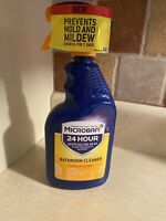 Microban 24 Hour Bathroom Spray Keep Killing 99.9% of Bacteria