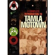 A COMPLETE INTRODUCTION TO TAMLA MOTOWN 4 CD SET NEW