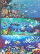 Australia-Marine Life 3 sheets mnh includes Reef Safari 2018