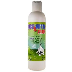 Demodex Red Mange Treatment  Dogs & Mites Plus - Natural Shampoo For Management