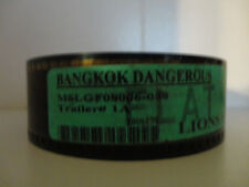 BANGKOK DANGEROUS (2007) 35mm Movie Trailer #1A collectibles FLAT 2min 13sec