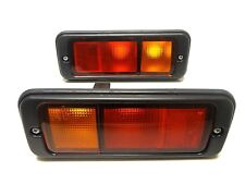 Isuzu Trooper Vauxhall Opel MONTEREY 92-99 rear tail foglights lamp set pair
