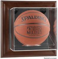 Brown Framed Wall Basketball Display Case - Fanatics