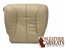 2001 Dodge Ram 2500 SLT Laramie Driver Bottom Synthetic Leather Seat Cover Tan