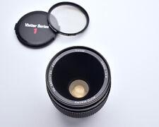 Vivitar Auto Macro 55mm f2.8 Lens OM Mount Komine Classic 1/1 Caps Filter (4168)