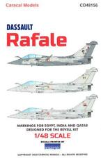 Caracal Decals 1/48 Dassault Rafale French Jet Fighter in Foreign Service