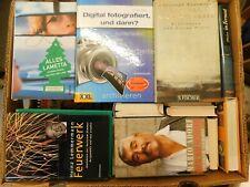 43 Bücher Hardcover Romane Sachbücher verschiedene Themen