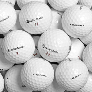 4 Dozzine Taylor Made Mix 48 palline da golf usate Cat 5 Stelle (PEARL)